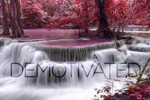 Demotivated message series